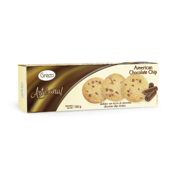 Artesanal American Chocolate Chips 150gr