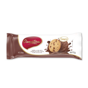 Canasticas Chocobase con Chips sabor a chocolate 110gr
