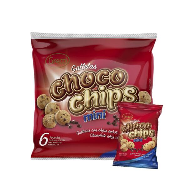 Chocochips Mini 210gr