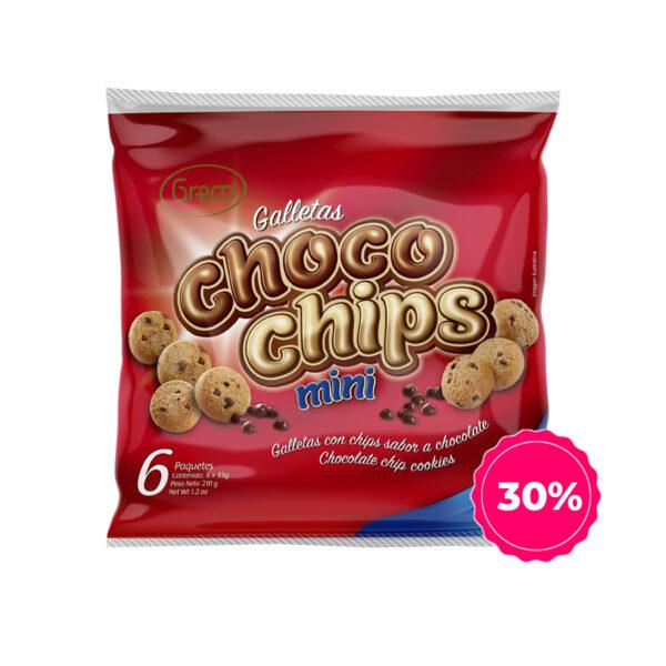 Chocochips mini 30off