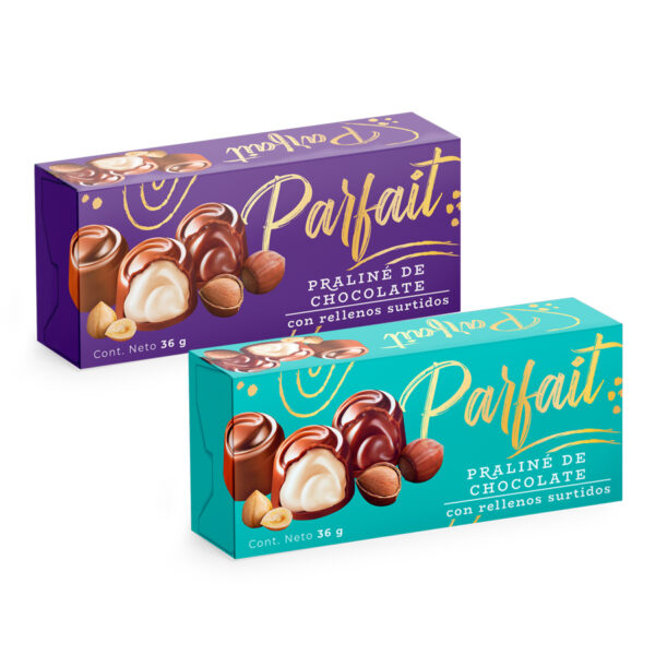 Chocolates Parfait x4