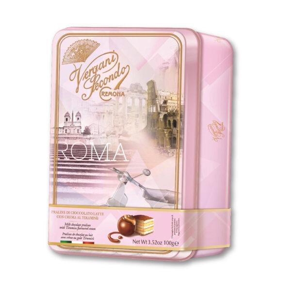 Chocolates Vergani Roma lata