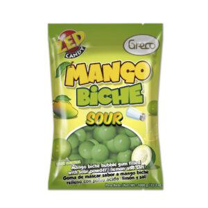 Goma de mascar Mango Biche bolsa