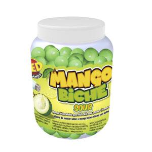 Goma de mascar Mango Biche tarro