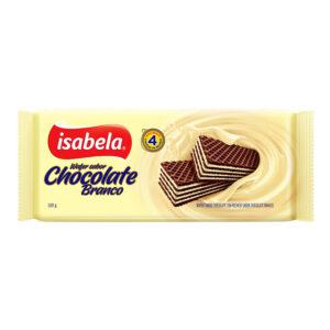 Isabela wafer chocolate blanco