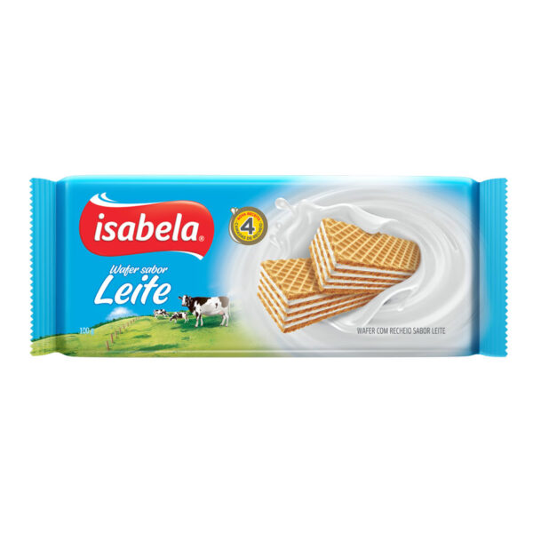 Isabela wafer leche