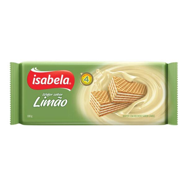 Isabela wafer limón