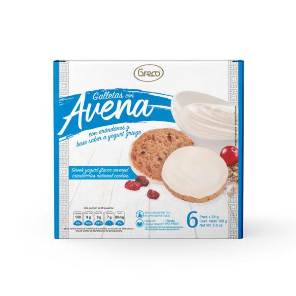 Galletas con avena y yogur griego